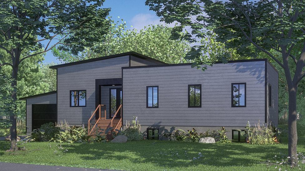 plan maison bois quebec