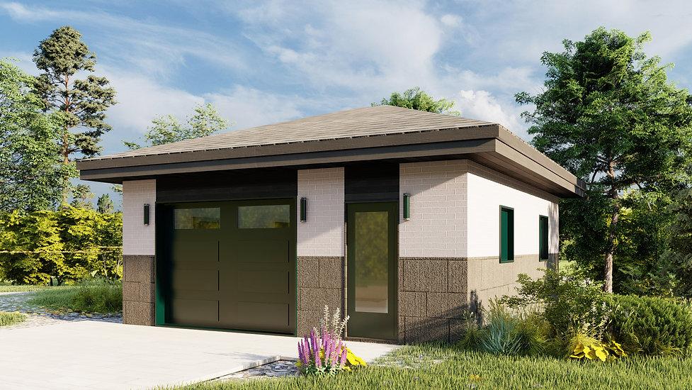 plan garage abitibi