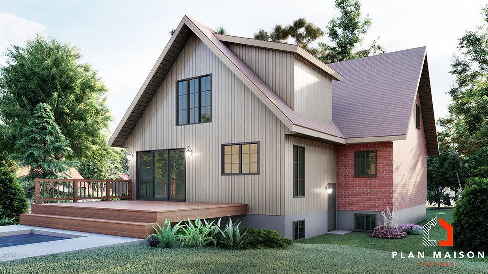 plan agrandissement maison alma