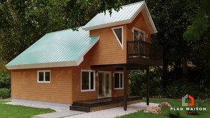 agrandissement maison sur pieux