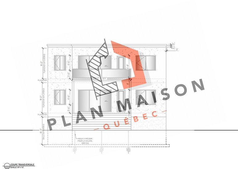 plan de maison neuve montreal