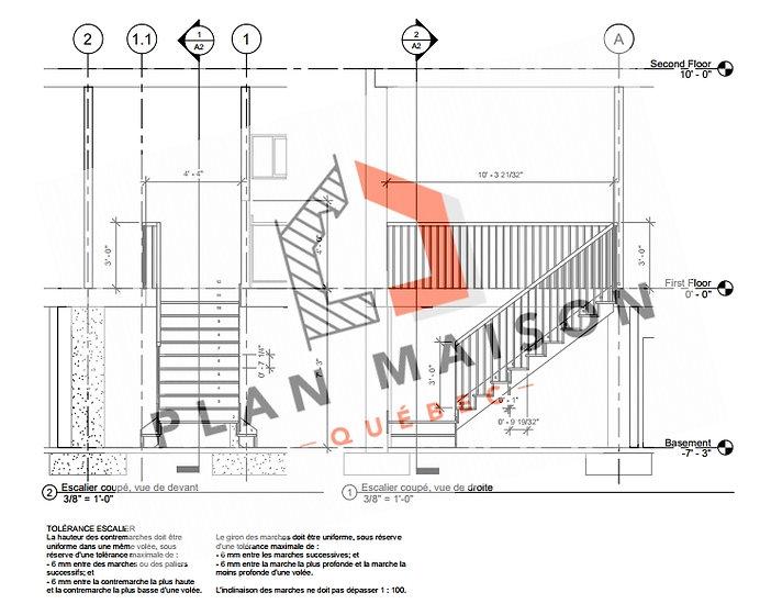 plan amenagement interieur maison montreal