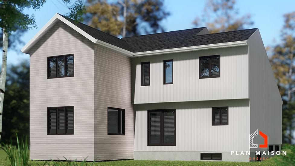 plan agrandissement maison blainville
