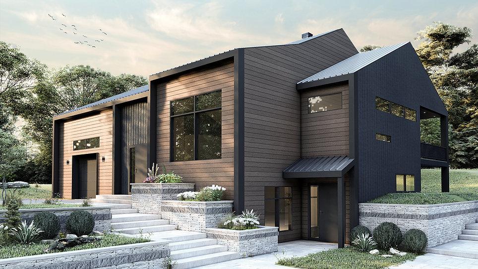 plan de maison avec garage gatineau