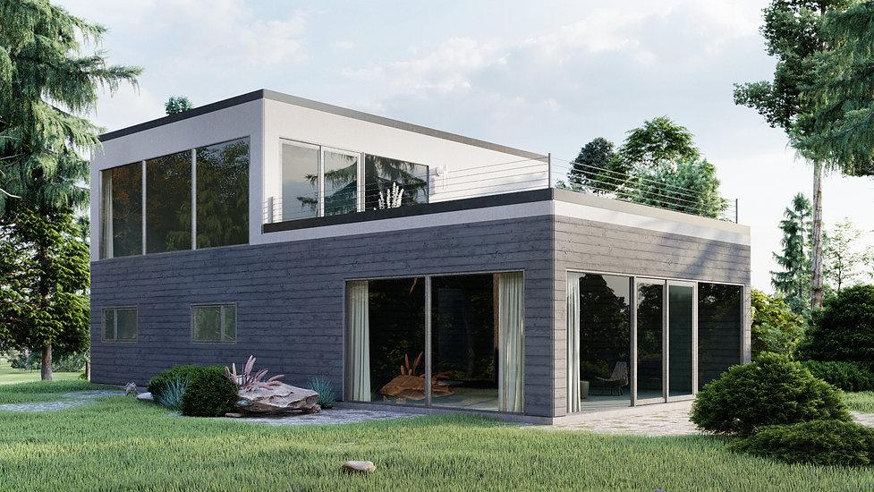 plan de maison moderne quebec