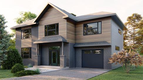 maison moderne abitibi