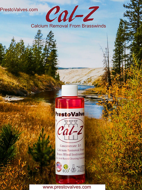 8 OZ Cal-Z CALCIUM REMOVAL FOR All Brasswinds 8 oz