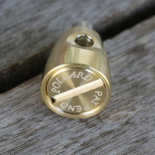 Pollard Water Key Gold Plate Smaller Brass
