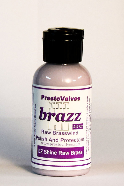 brazz RAW BRASS Polish and Protectant 2.5 Oz Bottle Only