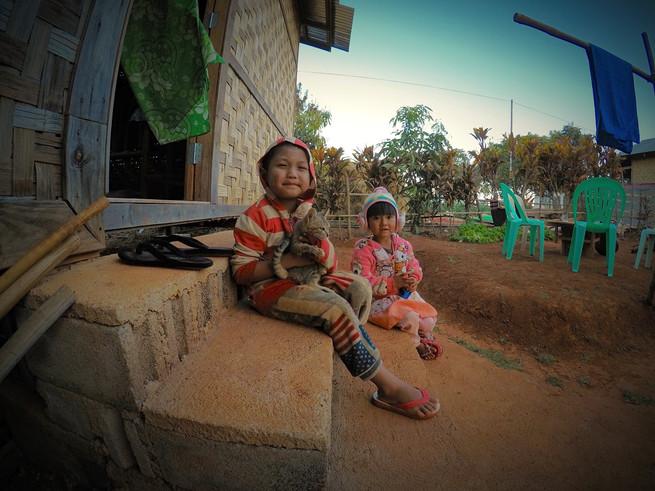 Photo prise à Kalaw, dans l'Etat Shan en Birmanie (Myanmar), lors d'une nuit chez l'habitant. Février 2018.