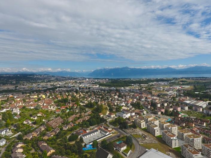 L'Ouest lausannois depuis mon drone