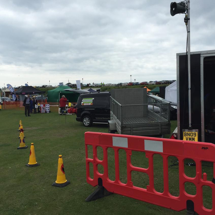 Motorfest Event Control Compound