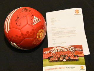 Silent Auction: Signed Manchester United Football