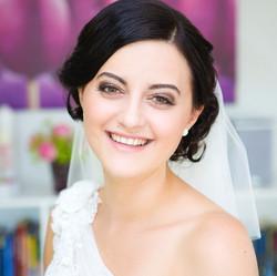 Braut Make Up Dunkel