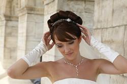 Braut Make Up und Haare