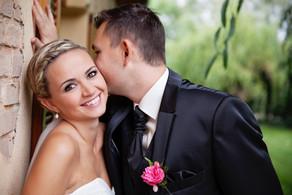 Eine glückliche Braut