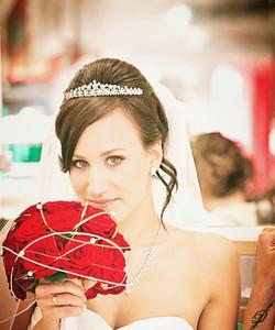 Braut Make Up Mixed