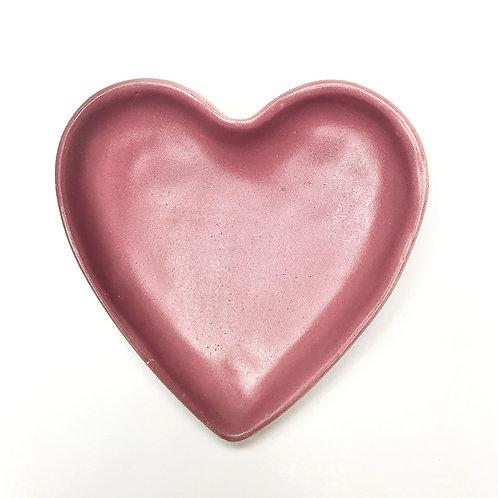 Coração Bandejinha Vinho