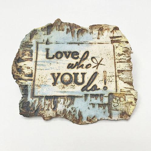 imã mensagem na pedra