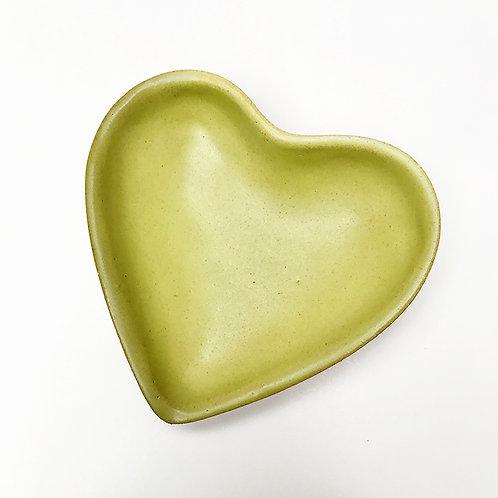 Coração Bandejinha Verde