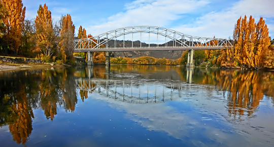 Alexandra Bridge in Autumn