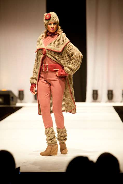 Knitwear Highly Commended 2012