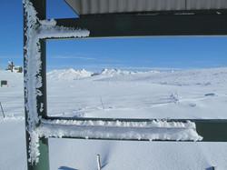 Central Otago Mountains in Winter