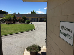 Alexandra Motor Lodge Reception