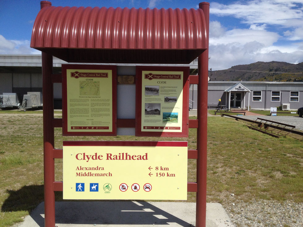 Clyde Railhead Rail Trail