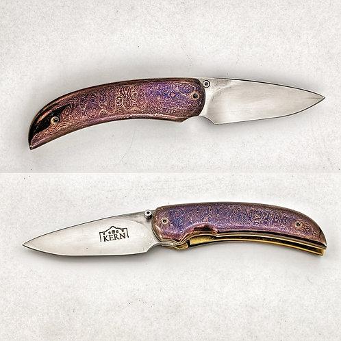 Bob Kern Custom Folding Knife