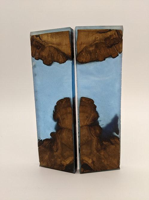 BG Blades | Hybrid Resin/Wood Scales