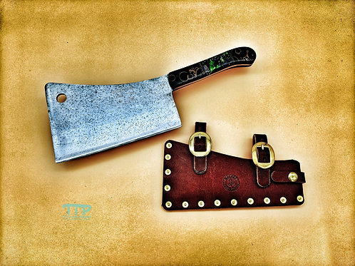 Foster Brothers Cleaver Circa 1920s-1940s | Refurbished
