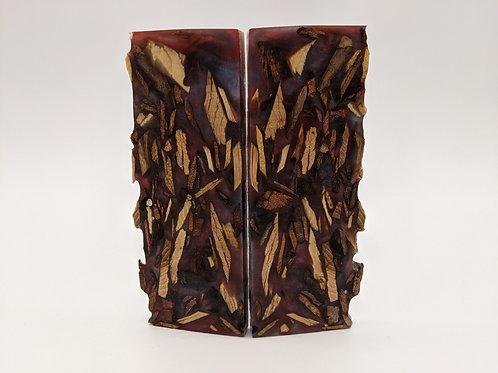 BG Blades   Hybrid Resin/Wood Scales