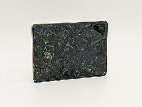 Resin Handle Material | Green Glitter