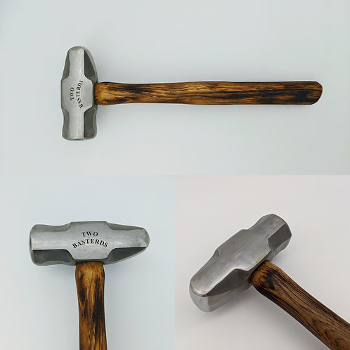 Two Basterds | 4 lb. Cross Fat Peen Hammer