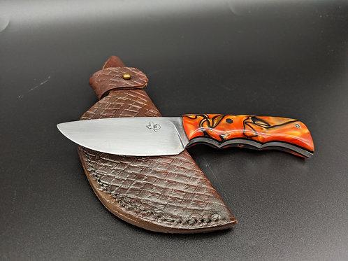 Bill Ey | Orange Acrylic Handle