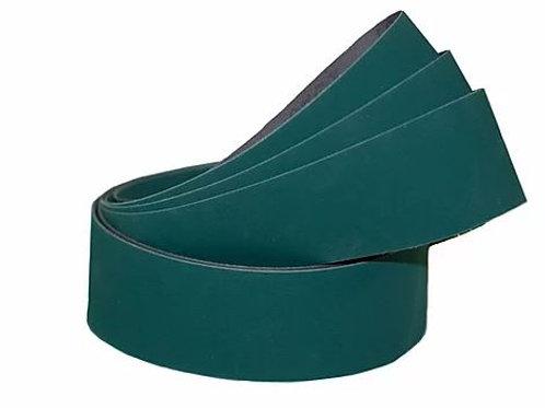 "2x72 Green Lubed Aluminum Oxide ""J"" Flex Belts"