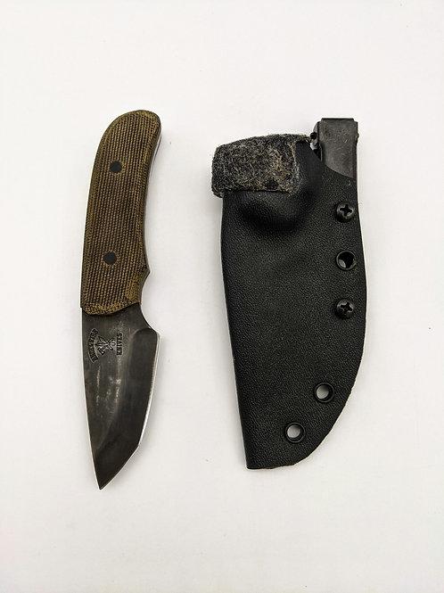 Angel Fire Knives   Brown Micarta