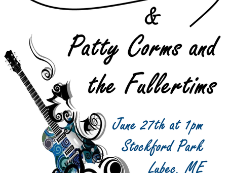 6/27/21: LAMPS Summer Mini-Festival with Sea Street Blues Band & Patty Corms and the Fullertims