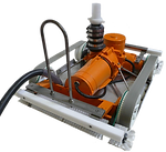 ROV nuclear underwater cleaner