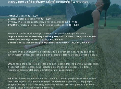 ZÁPISY DO VŠECH KURZŮ TANEČNÍHO A POHYBOVÉHO STUDIA MAGDALÉNA, Z.S. JEŠTĚ DO 25.9.2019