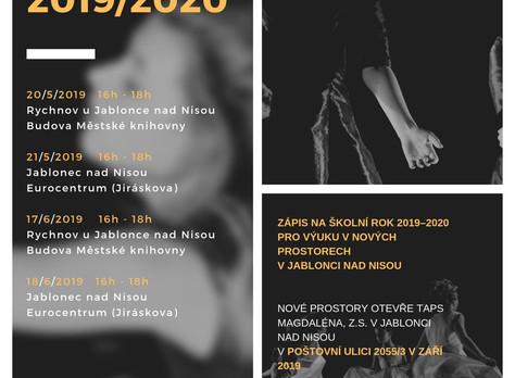 ZÁPIS NA ŠKOLNÍ ROK 2019/2020