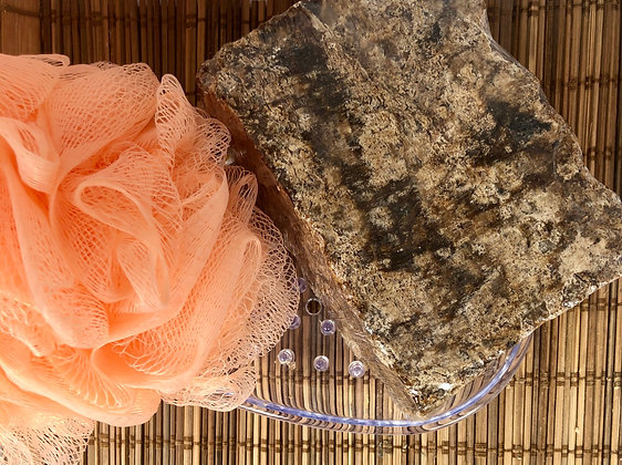 African Black Soap (Dish Inluded)