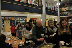 Community support @ Soup Bar event