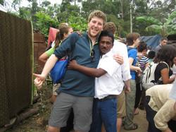 Kerala 2012-gatecrashing rural wedding