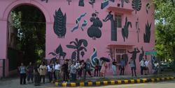 Saket Street Art and grp-2019 India EL