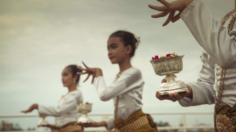 cambodian dancers