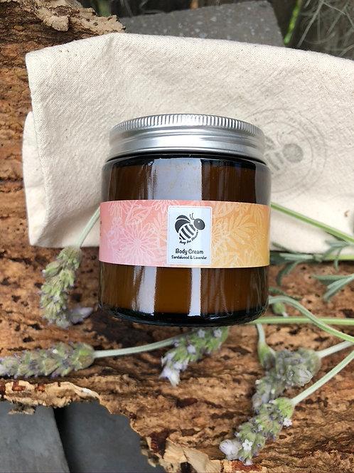 Sandalwood and Lavender Body Cream for sensitive skin