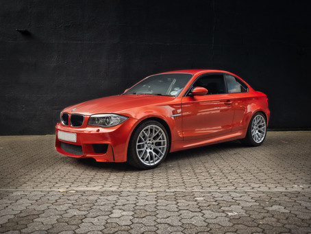 BMW 1M Firestarter (Words as published in Straight Six in June 2020)
