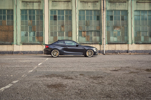 BMW M2 CS.  A print on Fuji Crystal Archive Matte Paper.